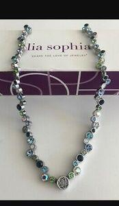 """Lia Sophia Jewelry - LIA SOPHIA - """"HAPPY HOUR"""" NECKLACE - STUNNING"""